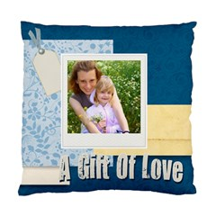 A Gift Of Love By Joely   Standard Cushion Case (two Sides)   1utk0omq1vps   Www Artscow Com Front