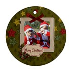 Ornament (Round) - Christmas12