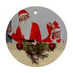 Ornament (Round) - Christmas15