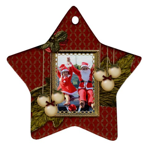 Ornament (star): Christmas13 By Jennyl   Ornament (star)   Grcmi6ihaszu   Www Artscow Com Front