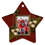 Ornament (Star): Christmas13