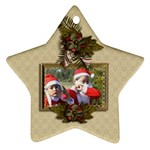 Ornament (Star): Christmas15