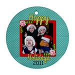 2011 Ornament 2B - Ornament (Round)
