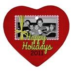 2011 Heart Ornament 2 - Ornament (Heart)