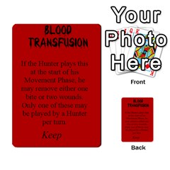 Fury Of Dracula Hunter Event Cards By Dana   Multi Purpose Cards (rectangle)   Yq11xcz9tf2l   Www Artscow Com Front 2