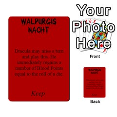 Fury Of Dracula Dracula Event Cards By Dana   Multi Purpose Cards (rectangle)   Goiysa2guvei   Www Artscow Com Front 11