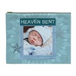 Heaven Sent Blue XL Cosmetic Bag - Cosmetic Bag (XL)