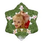 christmas - Ornament (Snowflake)