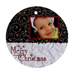 christmas ornament  - Ornament (Round)