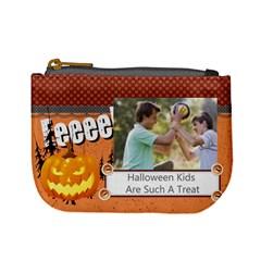 Halloween By Joely   Mini Coin Purse   Wkjzbb4ehqzw   Www Artscow Com Front