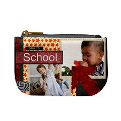Back To School By Joely   Mini Coin Purse   N7vmi03kkzjq   Www Artscow Com Front