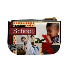 Back To School By Joely   Mini Coin Purse   N7vmi03kkzjq   Www Artscow Com Back