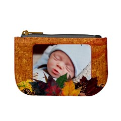Autumn Mini Coin Purse By Lil    Mini Coin Purse   W6zrf2x8fnkc   Www Artscow Com Front