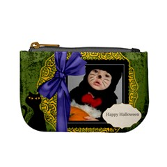 Halloween By Joely   Mini Coin Purse   8onw97f0a6kq   Www Artscow Com Front