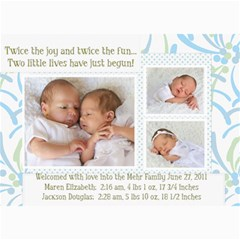 Twins 2 By Stacie Mehr   5  X 7  Photo Cards   B86zgx7iyqwk   Www Artscow Com 7 x5 Photo Card - 4
