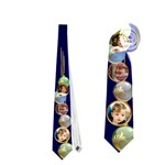 Bauble Christmas Tie (2 Sided) - Necktie (Two Side)