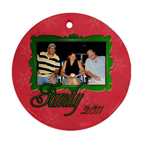 3willkids By Patricia W   Ornament (round)   Hyaih211a5xi   Www Artscow Com Front