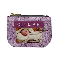 Cutie Pie Purple Mini Coin Purse By Lil    Mini Coin Purse   91th4wtmlzkm   Www Artscow Com Front