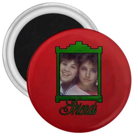 1980s Friends By Patricia W   3  Magnet   Tgpt6dngawbm   Www Artscow Com Front