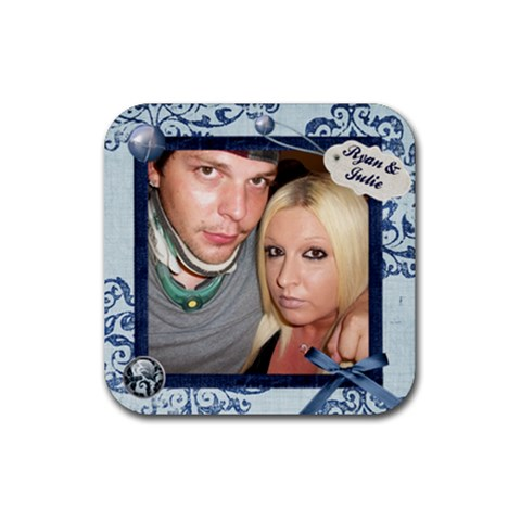 Coaster2 By Julie Schreiber   Rubber Coaster (square)   85gl7ms0d89o   Www Artscow Com Front