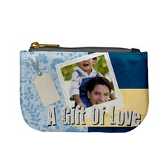 A Gift Of Love By Joely   Mini Coin Purse   Ha0n20xmhewh   Www Artscow Com Front