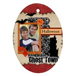halloween - Ornament (Oval)