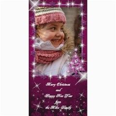 A Little Sparkle 4x8 Christmas Photo Card By Deborah   4  X 8  Photo Cards   8si7lxrk9d6c   Www Artscow Com 8 x4 Photo Card - 1