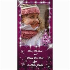 A Little Sparkle 4x8 Christmas Photo Card By Deborah   4  X 8  Photo Cards   8si7lxrk9d6c   Www Artscow Com 8 x4 Photo Card - 4