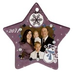 family 2011 - Ornament (Star)