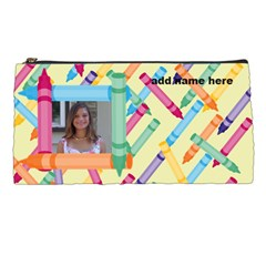 crayon pencil case by Kim Blair Front