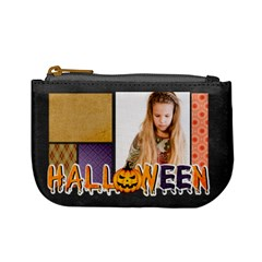 Halloween By Joely   Mini Coin Purse   Nv5h7saryuol   Www Artscow Com Front