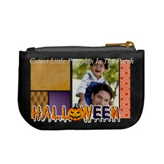 Halloween By Joely   Mini Coin Purse   Nv5h7saryuol   Www Artscow Com Back
