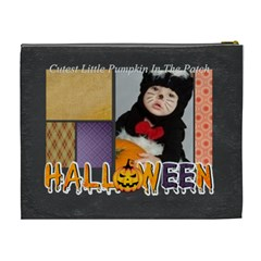 Halloween By Joely   Cosmetic Bag (xl)   Tcsx5pg5d9q6   Www Artscow Com Back