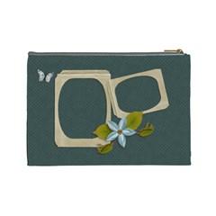 Cosmetic Bag (large): Enjoy Life By Jennyl   Cosmetic Bag (large)   Ae95m73vpygs   Www Artscow Com Back