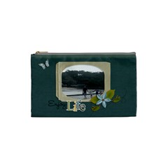Cosmetic Bag (small) : Enjoy Life By Jennyl   Cosmetic Bag (small)   Gqlcdeir2oip   Www Artscow Com Front