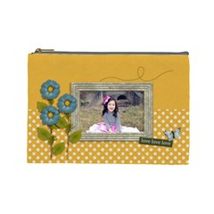 Cosmetic Bag (large): Lovelovelove By Jennyl   Cosmetic Bag (large)   6g2qvd0kec6k   Www Artscow Com Front