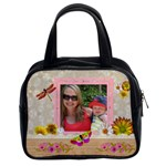 Pretty Nature Floral Classic Handbag - Classic Handbag (One Side)