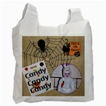 Trick or Treat Recycle Bag - Recycle Bag (One Side)