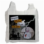 Scary Halloween Candy Recycle Bag - Recycle Bag (One Side)
