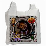 Trick or Treat recycle bag 3 - Recycle Bag (One Side)