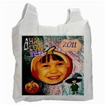 Trick or Treat recycle bag 4 - Recycle Bag (One Side)
