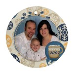 family 2007 - Ornament (Round)