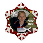 Riley 2009 - Ornament (Snowflake)