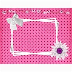 Happy Pink 2017 (any Year) Calendar By Deborah   Wall Calendar 11  X 8 5  (12 Months)   S1efi8lmxwlc   Www Artscow Com Month