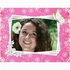 Happy Pink 2018 (any Year) Calendar By Deborah   Wall Calendar 11  X 8 5  (12 Months)   S1efi8lmxwlc   Www Artscow Com Month
