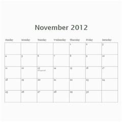 South African By Donny   Wall Calendar 11  X 8 5  (12 Months)   Ki5ro28ultrr   Www Artscow Com Nov 2012