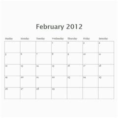 South African By Donny   Wall Calendar 11  X 8 5  (12 Months)   Ki5ro28ultrr   Www Artscow Com Feb 2012