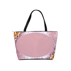 Framed In Pink Shoulder Bag By Deborah   Classic Shoulder Handbag   V6xg8huvo3z0   Www Artscow Com Back