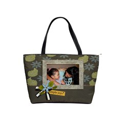 Shoulder Handbag: Simple Joys2 By Jennyl   Classic Shoulder Handbag   Gbgcdl1q28e2   Www Artscow Com Front