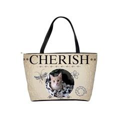 Cherish Classic Shoulder Handbag By Lil    Classic Shoulder Handbag   Shu9vs7qh4gx   Www Artscow Com Back